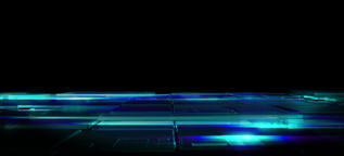 Floor impact technology opening animation background CG動画素材