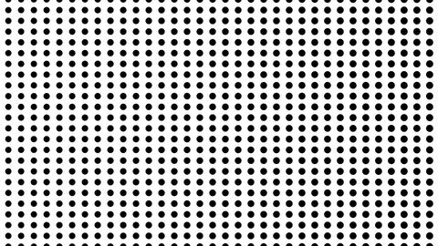 Dynamic black and white composition. Halftone element Archivo