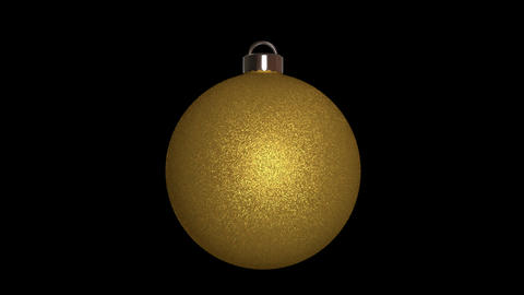 Ornament round gold Animation