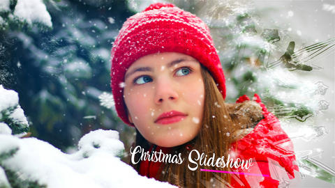 Christmas Slideshow After Effects Template