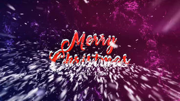 Christmas Greetings/Logo After Effects Templates