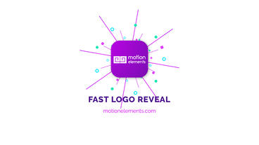 Fast Logo Reveal After Effects Templates