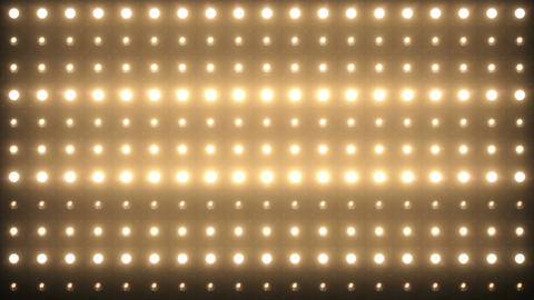 Lights Flashing Board Background 4K Animation