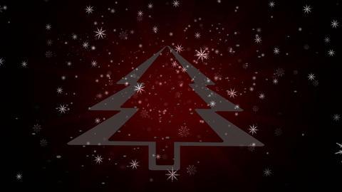 Snowflakes background Christmas Animation