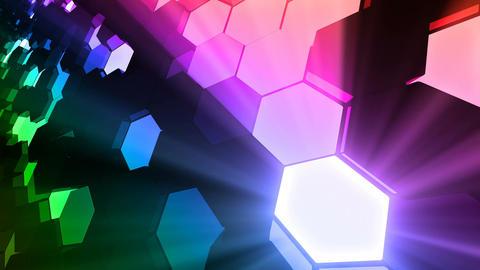 Geometric Wall-F 3 H DpMd 4k CG動画