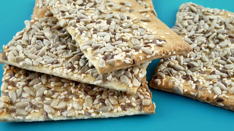 Crunchy cookies with sunflower seeds Image