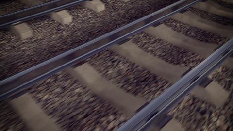 Railroad loop Animation