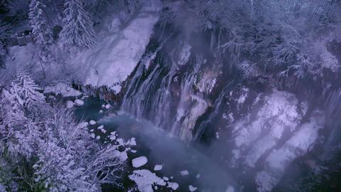 Shirahige Falls, Biei-Town, Hokkaido, Japan ライブ動画