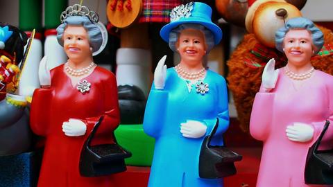 Queen Elizabeth's puppets, Scotland Footage
