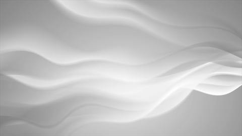Grey abstract elegant futuristic waves video animation Animation