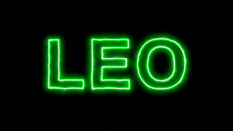 Neon flickering green constellation of a LEO in the haze. Alpha channel Animation