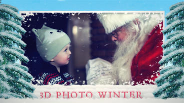 3d photo winter After Effects Templates