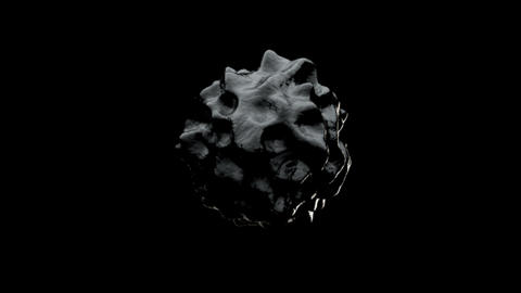Abstract Organic Sphere Object Virus. 3d rendering Bild