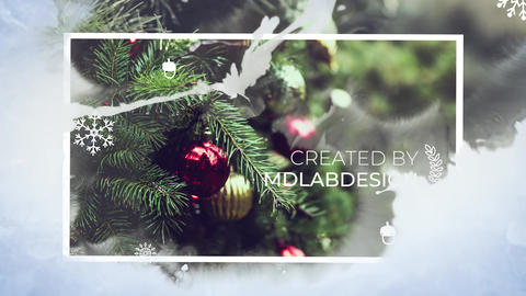 Christmas Slideshow Premiere Pro Template