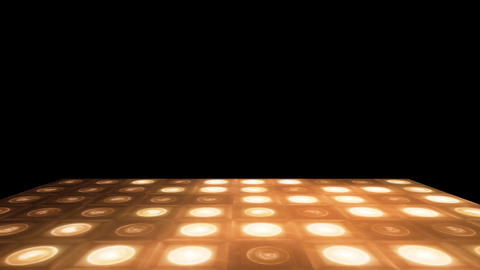 Retro Fever Dance Floor Yellow Animation