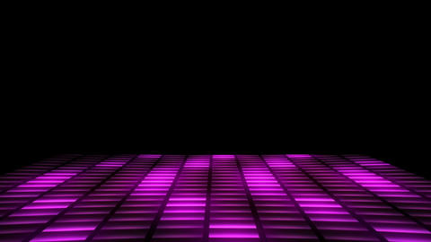 Retro Fever Dance Floor 80s Animation