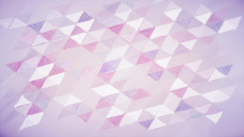 Hand drawn geometric abstract background Animation