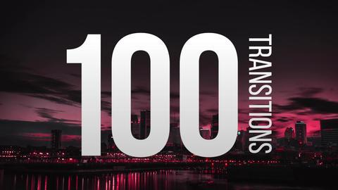 100 Transitions Premiere Pro Template