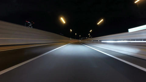 Hyperlapse on the Bayshore freeway to downtown Tokyo Archivo