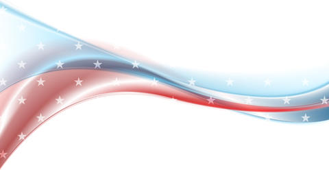 Usa colors abstract wavy video animation Animation