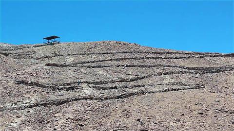 Pukara De Quitor In San Pedro De Atacama, Chile Footage