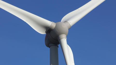 Wind turbines - concept of renewable energy Live Action
