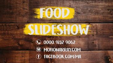 Food Slideshow Premiere Proテンプレート