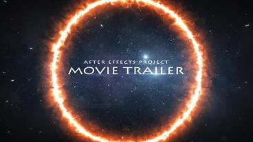 Trailer Titles 애프터 이펙트 템플릿