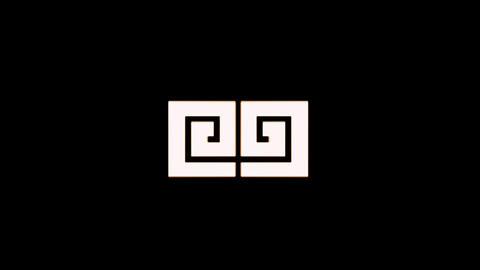 Glitch logo ME - 1