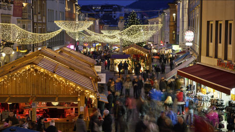 Christmas market in Villach Image
