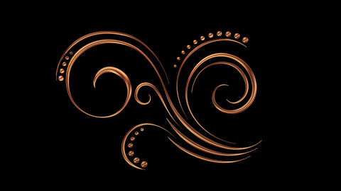 Animated Romantic Picturesque Copper Element 08 Animation