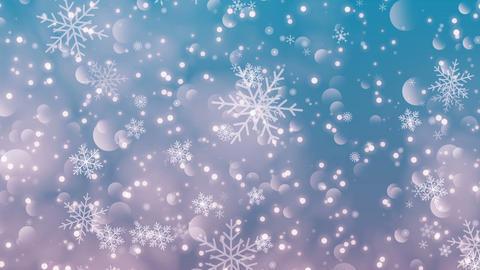 Christmas Snowflakes Light Image