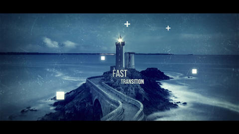 Abstract Parallax Slideshow After Effects Template