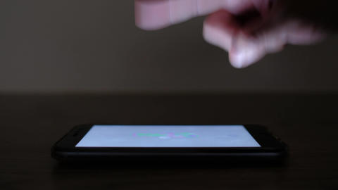 hand touch touch screen, ライブ動画