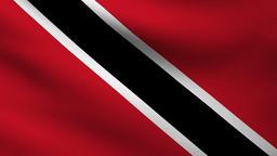 Trinidad Tobago flag Animation