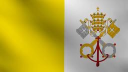 Vatican flag Animation