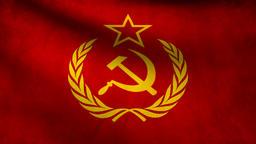 URSS flag Animation