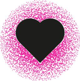 Black and pink valentine. Abstract pattern Vector Vector