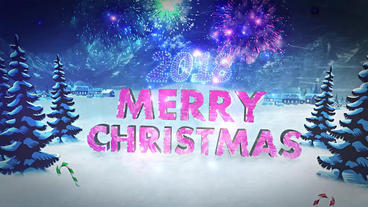 Two Christmas Logo Plantilla de After Effects