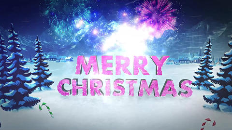 Two Christmas Logo After Effects Template