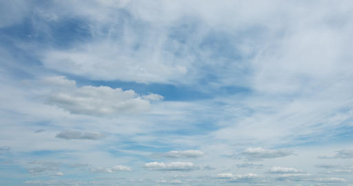 Abstract Timelapse of Puffy Clouds in the Sky GIF