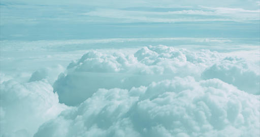 Aerial View of a Cloud Deck at Five Thousand Meters GIF