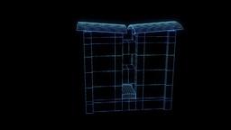 Building Nice Hologram Animation 30FPS Animation