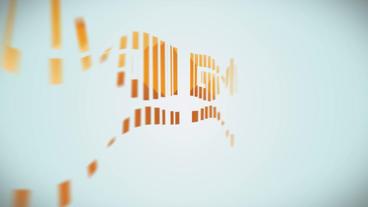 Simple Elegant Logo stock footage