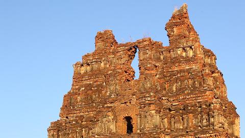 Vitala temple Hampi Karnataka India Live Action