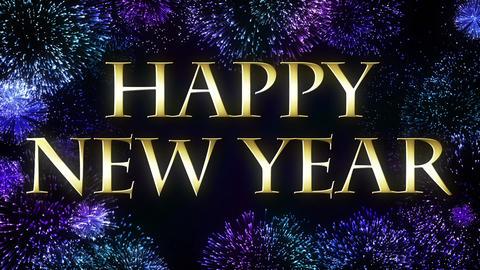 Happy New Year 2018 CG動画