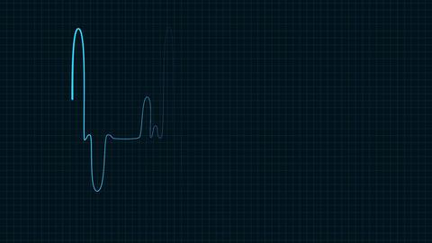 Heart rate monitor loop Footage