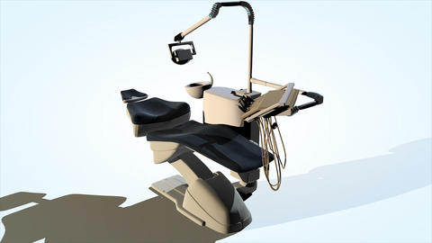 Dental chair animation Live Action