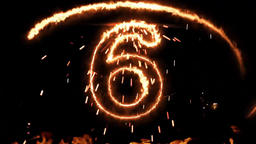 Fire Countdown 10 (Happy new year) Image