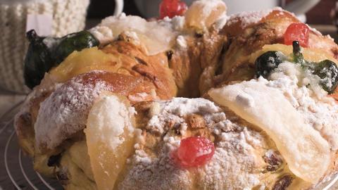 Bolo do Rei or King's Cake Image